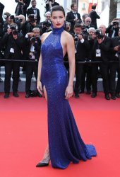 Adriana Lima attends the Cannes Film Festival