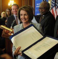 House passes financial bailout bill in Washington
