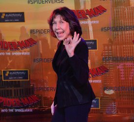 """Lily Tomlin attends """"Spider-Man"""" premiere in L.A."""