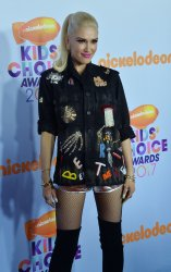 Gwen Stefani attends the Kids' Choice Awards in Los Angeles