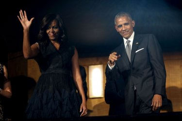 President Barack Obama attends a performance at the Kennedy Center