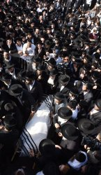 Mourners Attend A Funeral Of A Victim Of The Deadly Stampede In Israel