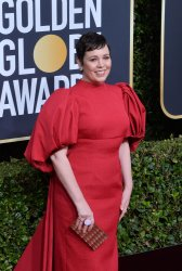 Olivia Colman attends the 77th Golden Globe Awards in Beverly Hills