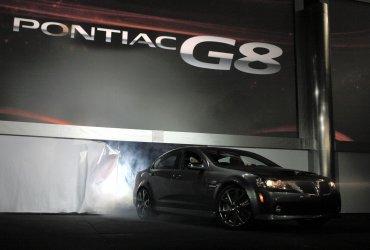 PONTIAC UNVEILS THE 2008 G8 AT THE 2007 CHICAGO AUTO SHOW