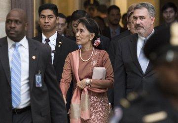 State Counsellor of Myanmar Aung San Suu Kyi  visits Washington, D.C.