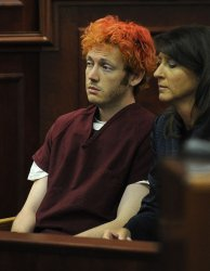 James Holmes makes his first court appearance in Colorado