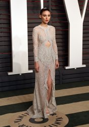 Rooney Mara arrives at the Vanity Fair Oscar Party in Beverly Hills