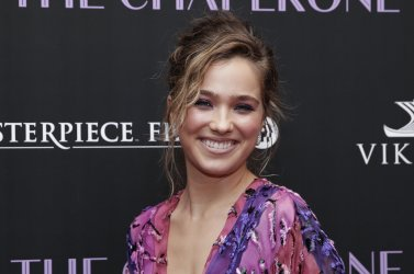Haley Lu Richardson at 'The Chaperone' New York Premiere