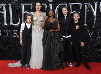 Maleficient: Mistress Of Evil premiere in London.