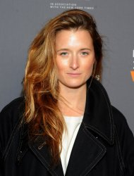 Grace Gummer arrives at Women in the World Summit in New York