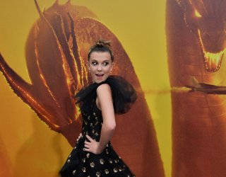 "Millie Bobby Brown attends the ""Godzilla: King of the Monsters' premiere in Los Angeles"