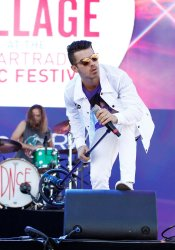 DNCE performs at the iHeartRadio Daytime Village Concerts