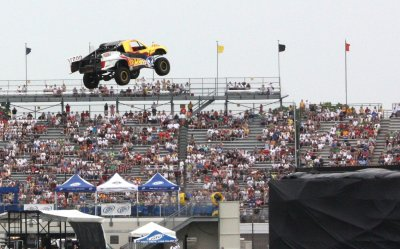 Tanner Foust Breaks Distance Record Jump