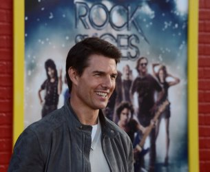 """Tom Cruise attends the """"Rock of Ages"""" premiere in Los Angeles"""