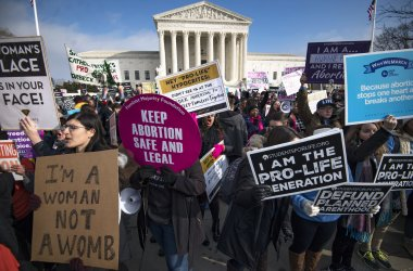 March for Life Anti-Abortion Rally at the Supreme Court
