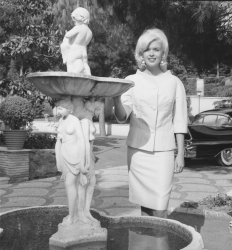 Jayne Mansfield in Rome