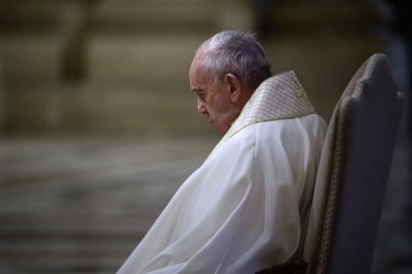 """Pope Francis Gives An Extraordinary """"Urbi Et Orbi"""" Blessing"""