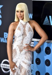 Tamar Braxton attends the annual BET Awards in Los Angeles