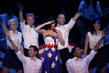 Katy Perry performs at Kids' Inaugural