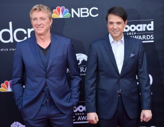 William Zabka and Ralph Macchio attend the 2019 Billboard Music Awards in Las Vegas