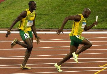 Men's 4 x 100m relay final in Beijing