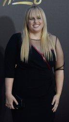 Rebel Wilson attends the MTV Movie Awards in Burbank, California