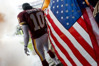 Philadelphia Eagles vs Washington Redskins in Landover, Maryland