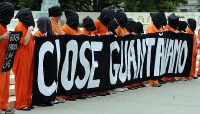 Demonstrators protest torture, Guantanamo detentions in Washington