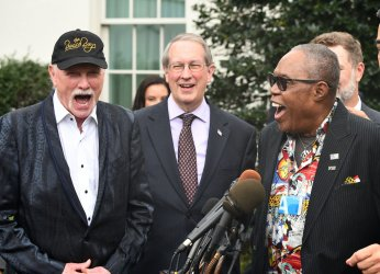 Musicians at White House discuss new Music Copyright Law