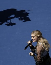 Meg Donnelly at the 2019 Arthur Ashe Kids day at the US Open