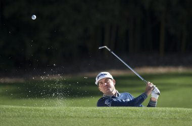 Keegan Bradley at the Masters