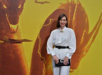 "Vera Farmiga attends the ""Godzilla: King of the Monsters' premiere in Los Angeles"