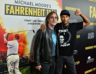 """Michael Moore attends the """"Fahrenheit 11/9"""" premiere in Beverly Hills"""