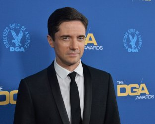 Topher Grace attends DGA Awards in Los Angeles