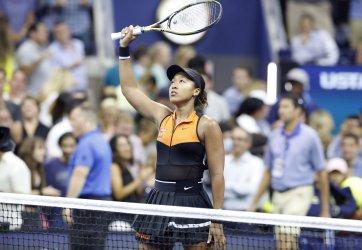 Naomi Osaka of Japan defetas Coco Gauff at the US Open