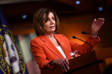 Speaker Pelosi holds a press conference in Washington, D.C.