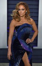 Jennifer Lopez attends Vanity Fair Oscar Party 2019