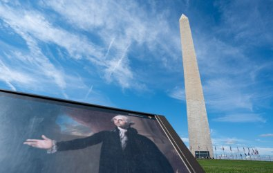 The Washington Monument reopens