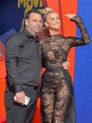 Randall Emmett and Lala Kent attend the MTV Movie & TV Awards in Santa Monica, California