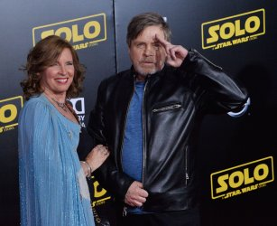 """Mark Hamill and Marilou York attend the premiere of """"Solo: A Star Wars Story"""" in Los Angeles"""