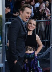 """Dax Shepard and Kristen Bell attend the """"CHIPS"""" premiere in Los Angeles"""