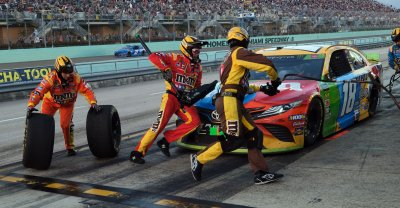 Ford EcoBoost 400 Championship in Homestead, Florida