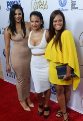 """Liz, Christina, and Danielle Milian attend the Latina """"Hot List"""" Party in West Hollywood"""