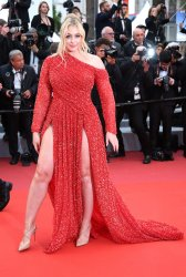 Iskra Lawrence attends the Cannes Film Festival
