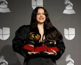 Rosalia wins awards at Latin Grammy Awards in Las Vegas