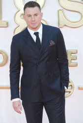 Channing Tatum attends the premiere of Kingsman: The Golden Circle in London.