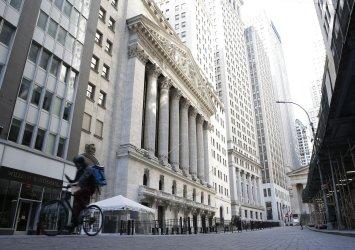 New York Stock Exchange during the Coronavirus in New York