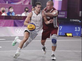 Men's 3X3 Basketball Semifinals at Tokyo Olympics