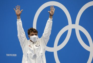USA's Finke wins Men's 1500m Freestyle Final