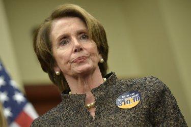 Senators hold a press Conference on Raising teh Minimum Wage in Washington, D.C.